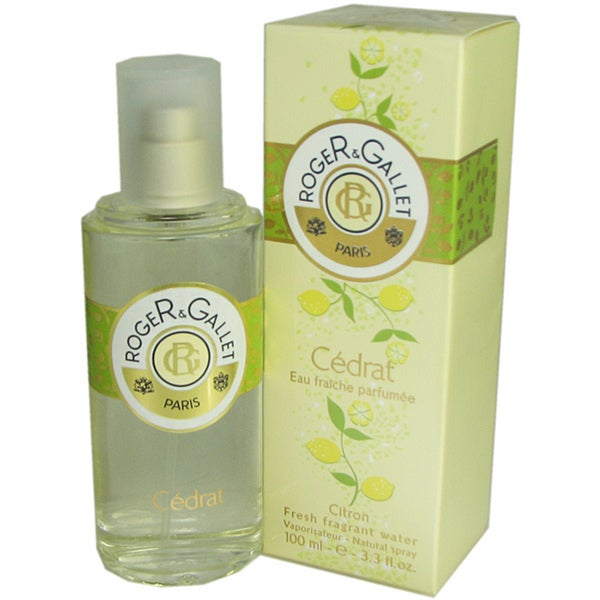 Roger & Gallet 'Cedrat' Women's 3.3-ounce Fresh Fragrant Water Spray