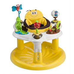 Evenflo ExerSaucer Backyard Discovery Bee Activity Center