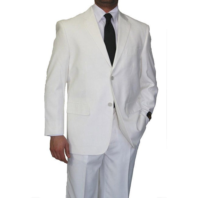 Ferrecci's Men's Off-White 2-piece Suit