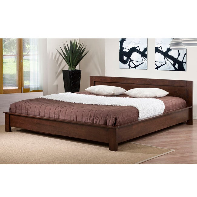 Alsa king size platform bed 80004549 shopping great deals on i love living beds - Kingsize platform beds ...