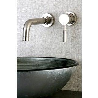 Wall Mount Chrome Single Handle Bathroom Faucet