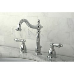 Victorian Chrome Widespread Bathroom Faucet