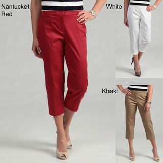 Counterparts Women's Pocketless Capri Pants