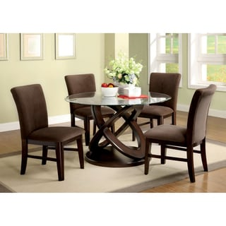 Keystone 5-piece Espresso Finish Dining Set