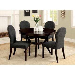 Furniture of America Magnolia 5-piece Espresso Finish Dining Set