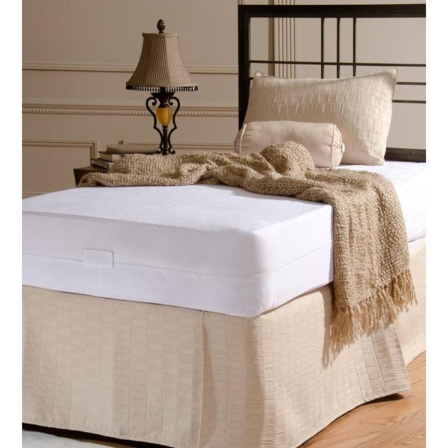 Rest Assure Waterproof Cotton Full-size Mattress Encasement