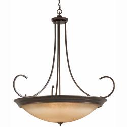 LaCosta 12-light English Bronze Pendant