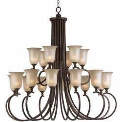 LaCosta 18-light English Bronze Chandelier