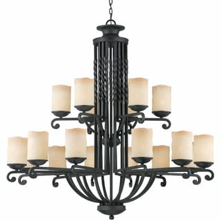 Granada 18-light Blacksmith Bronze Chandelier