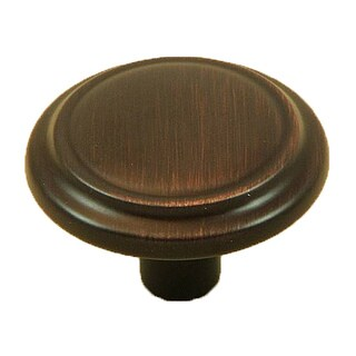 Stone Mill Hardware Oil Rubbed Bronze Sidney Cabinet Knobs (Set of 25)