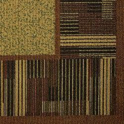 Somette Tufted Sisal Printed Brown/Beige Indoor/Outdoor Area Rug (5' x 7')