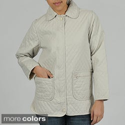 Nuage Women's Quilted Denim Jacket