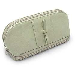 Morelle 'Rachel' Green Leather Cosmetic/ Jewelry Case