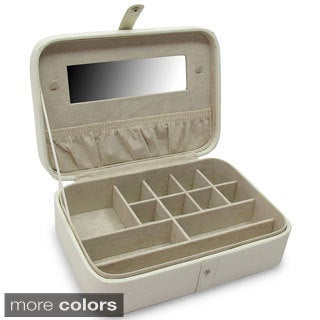Morelle 'Kimberly' Leather Versatile Jewelry Box