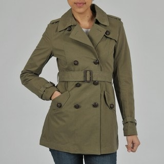 Buffalo Women's Double Breasted Belted Trench