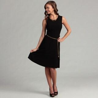 Calvin Klein Women's Sleeveless Pleated Dress