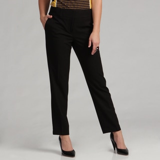 Calvin Klein Womens Lux Stretch Crop Pants FINAL SALE