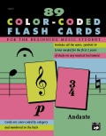 Complete Color-Coded Flash Cards: For All Beginning Music Students (Cards)