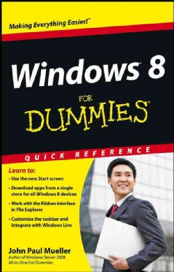 Windows 8 for Dummies: Quick Reference (Paperback)