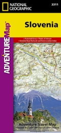 National Geographic Adventure Map Slovenia (Sheet map, folded)