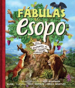 Fabulas de Esopo / Aesop's Fables: Un desplegable de cuentos clasicos / A Pop-Up Book of Classic Tales (Hardcover)