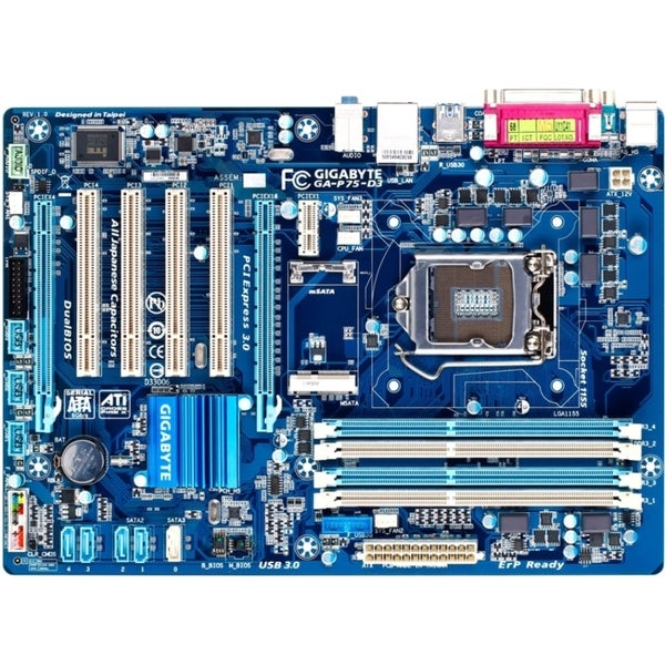 Gigabyte Ultra Durable 4 Classic GA-P75-D3 Desktop Motherboard - Inte