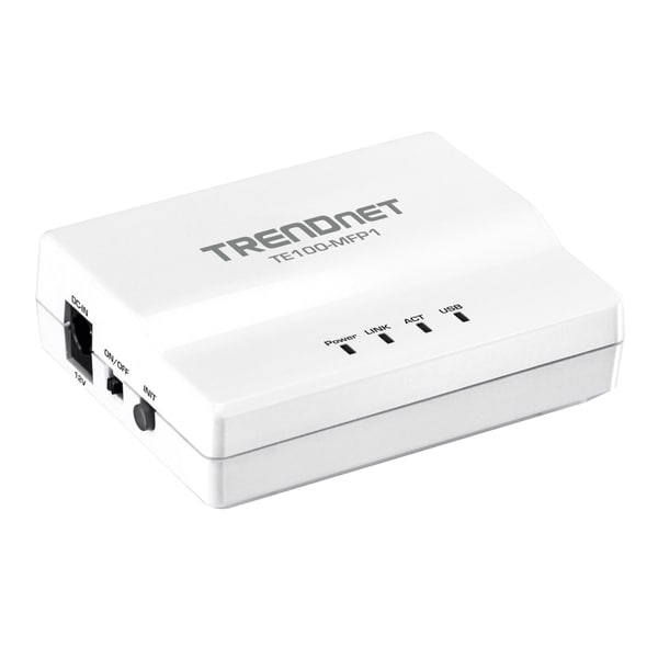 TRENDnet 1-Port Multi-Function USB Print Server