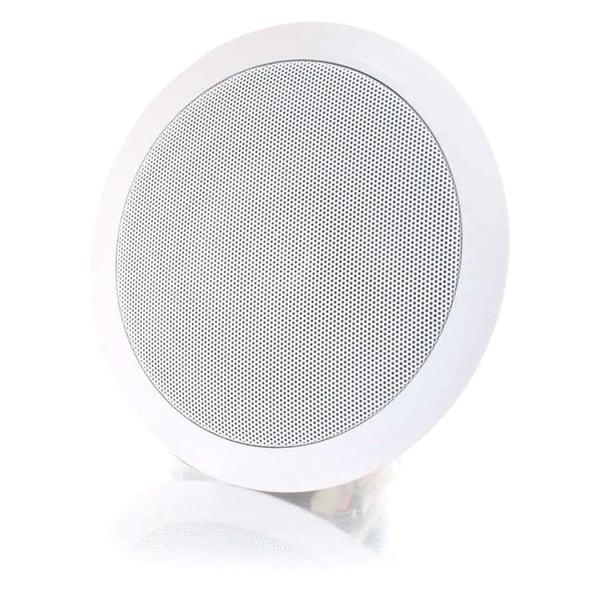 C2G Cables To Go 5in Ceiling Speaker 70v - White (Each)