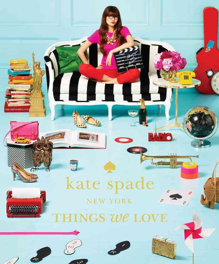 Kate Spade New York: Things We Love: Twenty Years of Inspiration, Intriguing Bits and Other Curiosities (Hardcover)