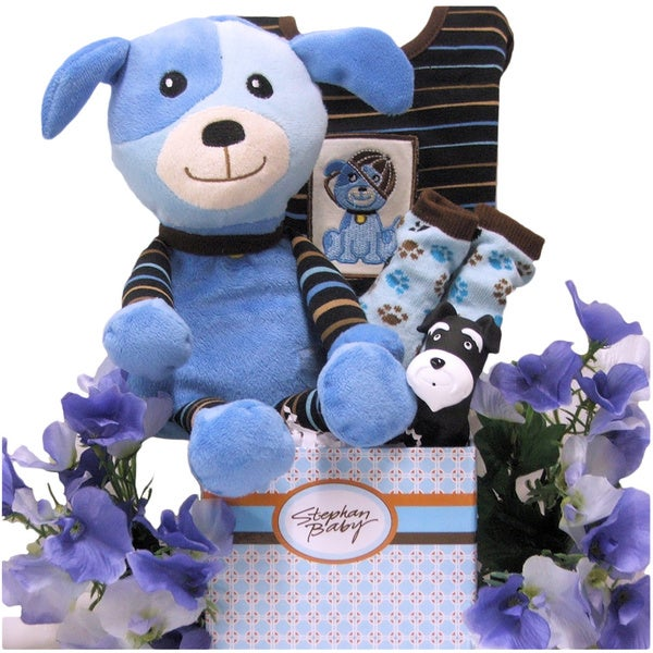 Baby Gift Baskets Delivered : Special delivery baby boy gift basket overstock ping