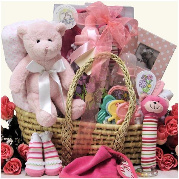 Baby Girl Essentials Gift Basket