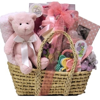 Baby Girl Essentials Gift Basket