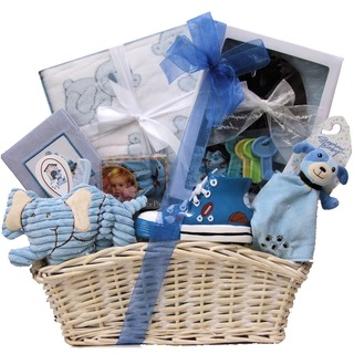 Bouncing Baby Boy Gift Basket