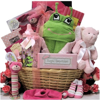 Congratulations Baby Girl Gift Basket