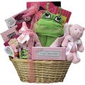 Great Arrivals Congratulations Baby Girl Gift Basket