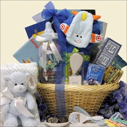 Baby  Gift Sets on Blue Gift Sets   Overstock Com  Buy Baby Gifts Online