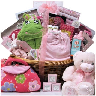 Great Arrivals Grand Welcome Baby Girl Gift Basket