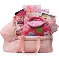 Best Wishes Baby Girl Gift Basket