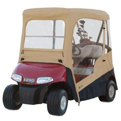 Fairway E-Z-GO Sand Golf Cart Enclosure