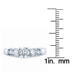 14k White Gold 1ct TDW Diamond Engagement Ring (H-I, I1)