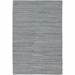 Flat-weave Mandara Blue-Grey Rug (5' x 7'6)