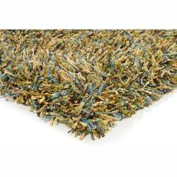 Handwoven Multicolor Mandara Shag Area Rug (7'9 x 10'6)