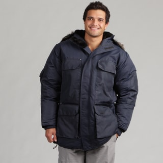 Joe Whistler Men's Navy Snorkel Down Jacket