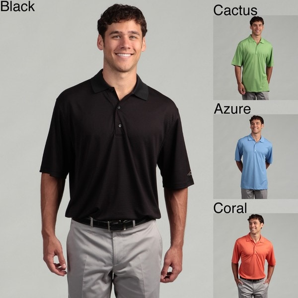 Greg Norman Men's Performance Solid Polo