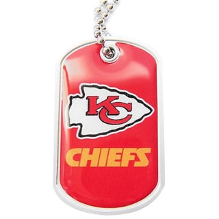 NFL Dog Tag Domed Necklace Charm