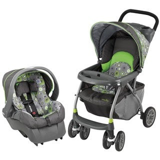 Evenflo Journey 300 Travel System in Pinwheel