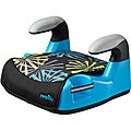 Evenflo Amp Graphics No-Back Booster Car Seat in Blue Burst