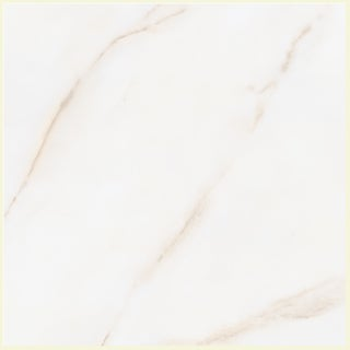 SomerTile 19.75x19.75-in Calcutta White Porcelain Floor and Wall Tiles (Case of 6)