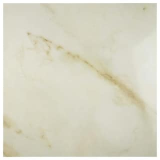 SomerTile 19.75x19.75-inch Calcutta White Porcelain Floor and Wall Tile (Case of 6)
