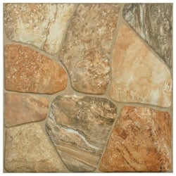 SomerTile 17.75x17.75-inch Rhone Caliza Ceramic Floor and Wall Tiles (Pack of 7)